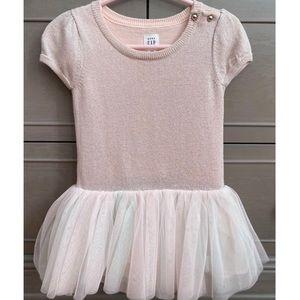 Baby GAP shirt sleeve tutu dress